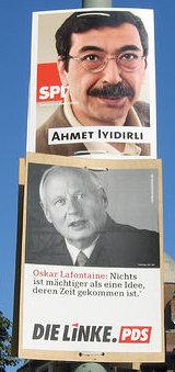 Wahlplakat / cc kosare
