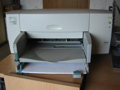 Drucker HP DeskJet 720c