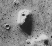Mars Gesicht