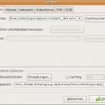 VLC mit Streaming Adresse